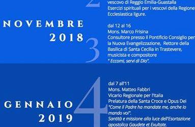 Esercizi spirituali 2018/2019