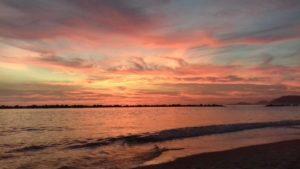 tramonto marina di massa